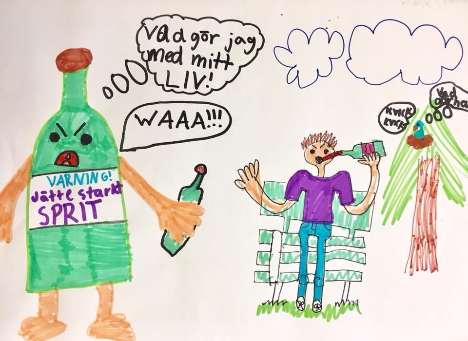 Vändpunkten barn teckning